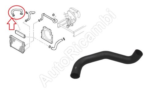 Charger Intake Hose Iveco Daily 2000-2011 3,0 from intercooler to intake manifold