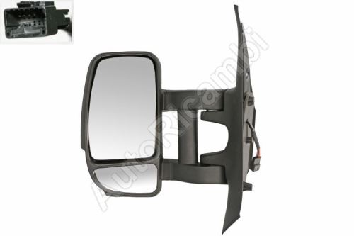 Rear View mirror Renault Master from 2010 left long electric, 7-PIN