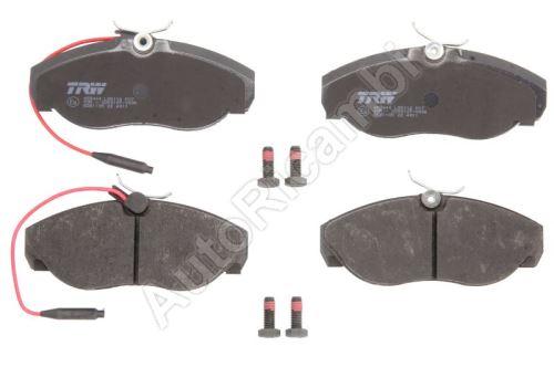 Brake pads Fiat Ducato 1994-2002 front, 2-sensors, Q11/14