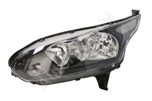 Headlight Ford Transit, Tourneo Connect from 2014 front, left with daylight, black