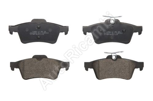 Brake pads Ford Transit Connect, Tourneo Connect 2002-2013 rear