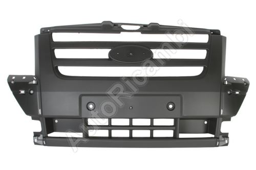 Bumper Ford Transit 2006-2014 front, middle part, dark gray