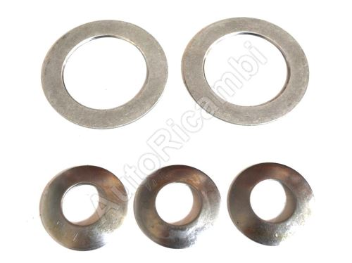 Differential washers Iveco Daily 35 / 50C set 4 + 2