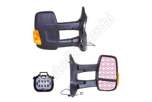 Rearview mirror Ford Transit from 2013 right long, manual, 2-PIN, 16W