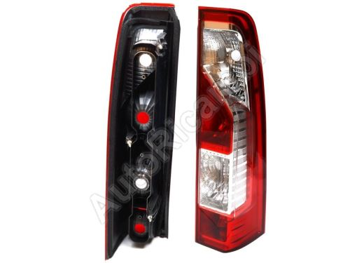 Tail light Renault Master from 2010 right without bulb holder
