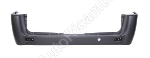 Rear bumper Fiat Scudo 2007-2016 black, long version
