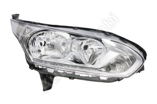 Headlight Ford Transit, Tourneo Connect from 2014 front, right with daylight, chrome