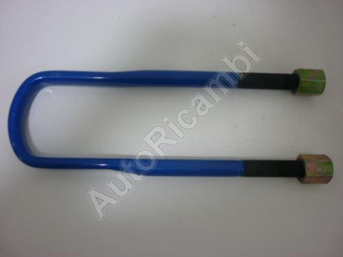U-bolt Iveco Trakker 8-leaf spring M24x1, 5 x 102 x 420