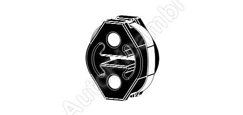 Exhaust rubber mount Fiat Ducato 244