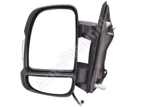 Rear View mirror Fiat Ducato 2006-2011 left short 80mm, electric, 5W, 8-PIN