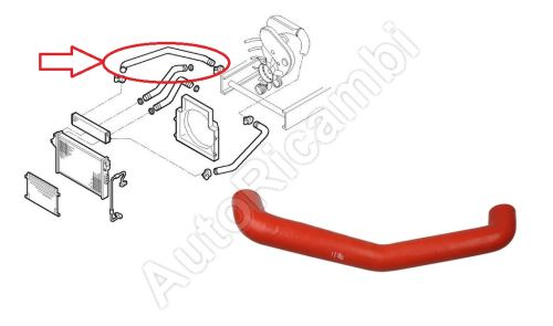 Charger Intake Hose Iveco Daily 2000-2006  2,8 C11/13 from turbocharger to intercooler