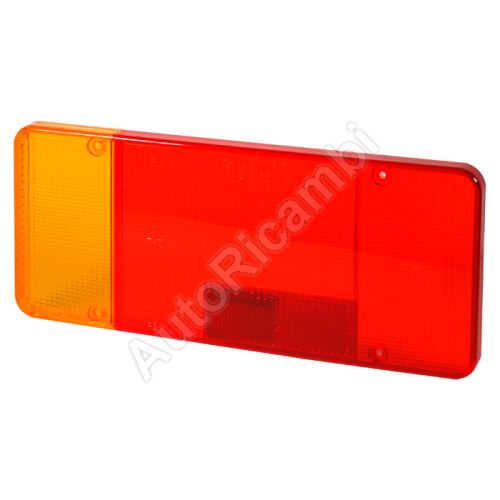 Tail light lens Iveco Daily up to 2006, EuroCargo 75E, Fiat Ducato up to 2011 left