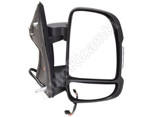 Rear View mirror Fiat Ducato 2006-2011 right short 80mm, electric, 5W, 8-PIN